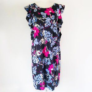 Kaari Blue Women's Floral Sheath Dress